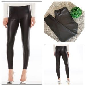 LC Lauren Conrad Faux-Leather Leggings
